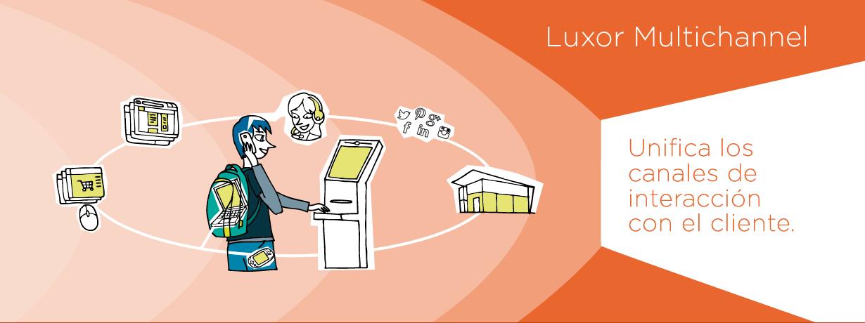 Luxor Multichannel solución de contacto multicanal