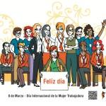 Felíz día mujeres del mundo
